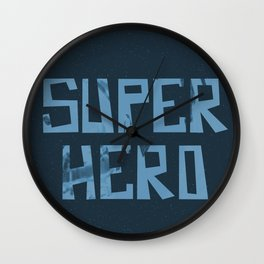 Superhero Wall Clock