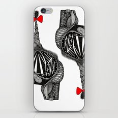 Hairy Heart iPhone & iPod Skin