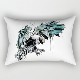 Geometric eagle Rectangular Pillow