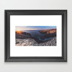 Panoramic Sunrise Framed Art Print