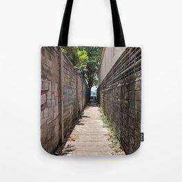 Alleyway to Kata Beach Thailand Tote Bag