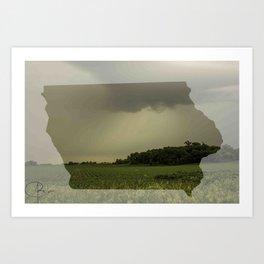 Iowa in Spring Art Print