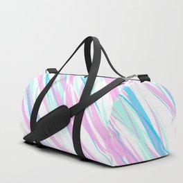 Soft Fluffy Fur Abstract Design Duffle Bag