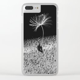 portrait of a seed Clear iPhone Case