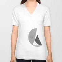metropolis V-neck T-shirts featuring Metropolis by Federico Leocata LTD