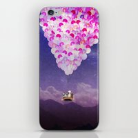 never stop exploring iPhone & iPod Skins featuring NEVER STOP EXPLORING IV by Monika Strigel®
