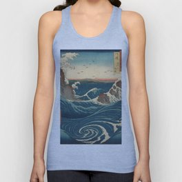 Vintage poster - Japanese Wave Unisex Tank Top
