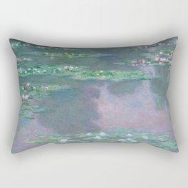 Water Lilies Monet 1905 Rectangular Pillow