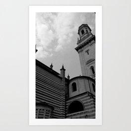 Duomo di Verona Art Print