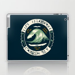 Life is a Wave Laptop & iPad Skin