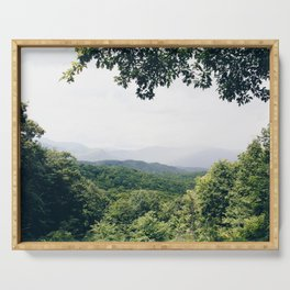 The Great Smoky Mountains Gatlinburg Tennessee Serving Tray