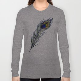 The Peacock's Feather Long Sleeve T-shirt