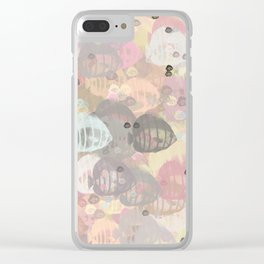 Fish Abstract Sea Life Clear iPhone Case