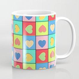 Heart Shaker Pattern Coffee Mug