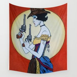 Wanted - Hesper Fleet - Outlaw Wall Tapestry