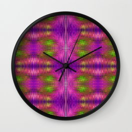 Electric Purle Wall Clock