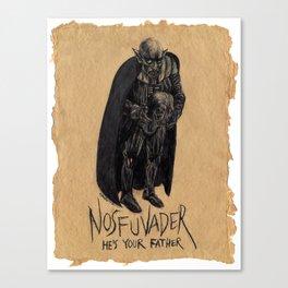 """Nosfuvader"" Canvas Print"