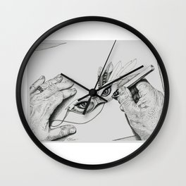 Tory's Eyes Wall Clock