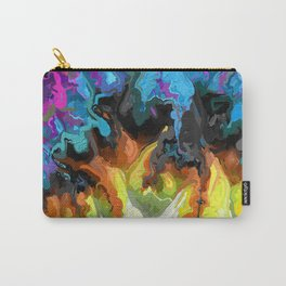 Progression. Abstract Art by Tito Carry-All Pouch