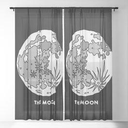 The Moon Sheer Curtain