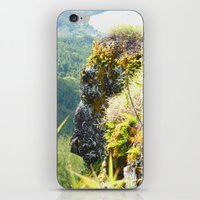 no face iPhone & iPod Skins featuring Face by SnowInSeptember