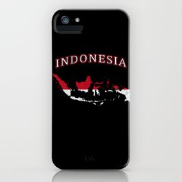 Vintage Indonesia iPhone Case