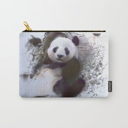 Animals and Art - Panda Carry-All Pouch