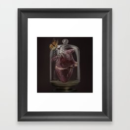 When you looked at me that way Framed Art Print