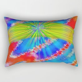 Abstract lighteffects -10- Rectangular Pillow
