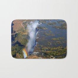 Flight over the Victoria Falls, Zambia Bath Mat