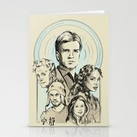 firefly Stationery Cards featuring Firefly by Miki Price