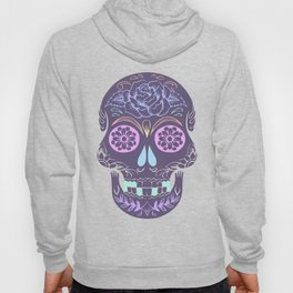 Day of the Dead Pastel Skull (Dia de los Muertos) Hoody