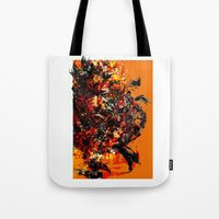 metal gear solid Tote Bags featuring metal gear by ururuty