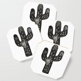 Stamped Cactus Coaster