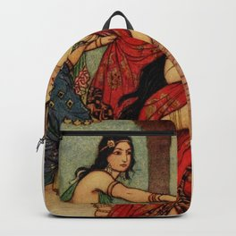 The ordeal of Queen Draupadi Backpack