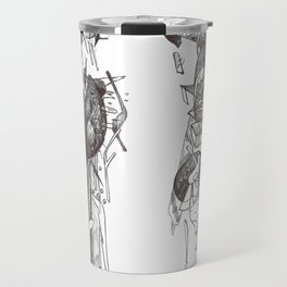 Angels in the Garden of Eavesdropping Travel Mug
