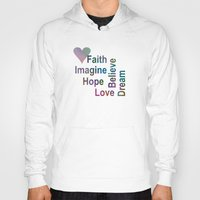 inspirational Hoodies featuring Inspirational by LLL Creations