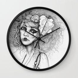 The Way Time Takes Our Life Away Wall Clock