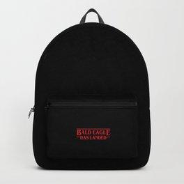 Strange Bald Eagle Has Landed Backpack