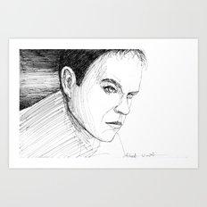 Jason Bourne Art Print