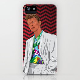 Phillip Jeffries (I still miss David Bowie) iPhone Case