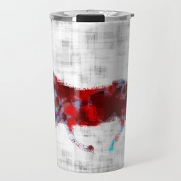 Colorfully Graceful  Travel Mug
