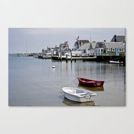the sunken ship--more vibrant Canvas Print