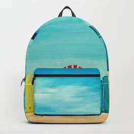 A Day At The Beach Backpack