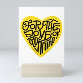 """For The Love Of Running - """"Steeltown"""" Mini Art Print"""