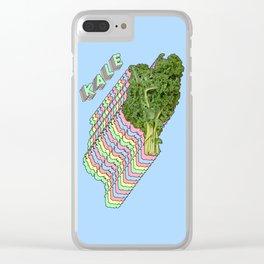 Kale Kale Kale Clear iPhone Case