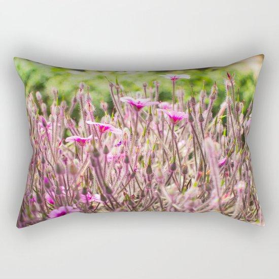 fleurs des champs 5 Rectangular Pillow