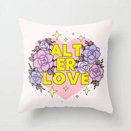 ALT ER LOVE Throw Pillow