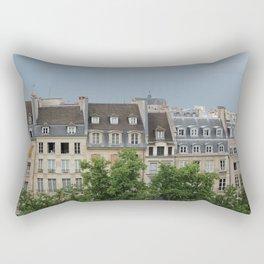 Houses in Paris  Rectangular Pillow