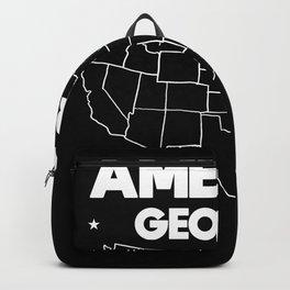 USA gift Georgia State Backpack